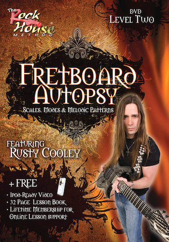 Product Cover for Rusty Cooley – Fretboard Autopsy