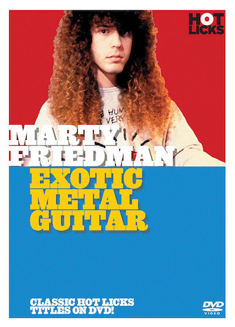 Product Cover for Marty Friedman – Exotic Metal Guitar