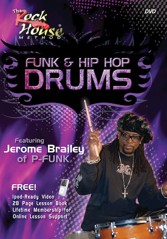 Jerome Brailey of Parliament – Funk & Hip Hop Drums