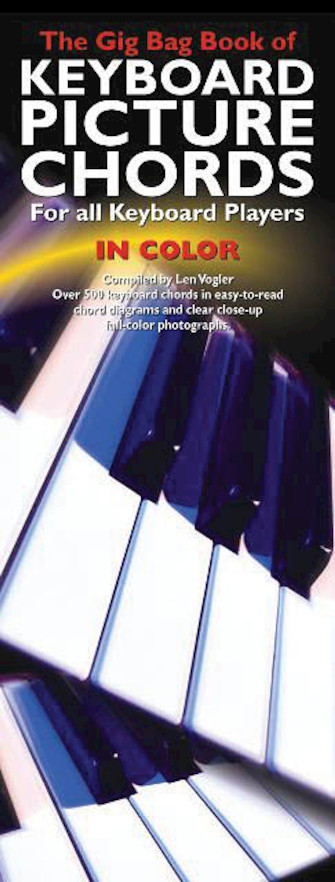Product Cover for The Gig Bag Book of Keyboard Picture Chords in Color
