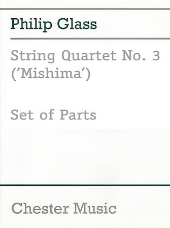 Product Cover for String Quartet No. 3 (Mishima)