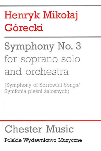 Product Cover for Symphony No. 3 (Symphony of Sorrowful Songs)