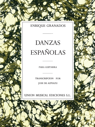 Product Cover for Danzas Espagnolas Complete for Guitar