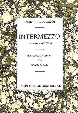 Product Cover for Granados Intermezzo From Goyescas (azpiazu)