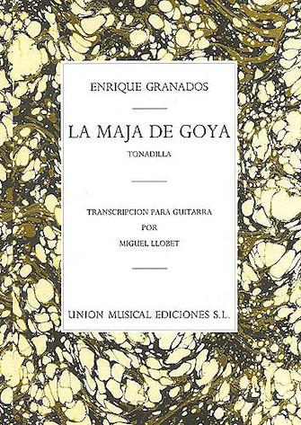 Product Cover for La Maja de Goya from Tonadilla
