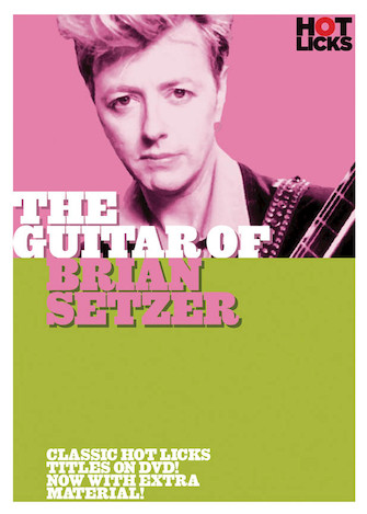 Product Cover for The Guitar of Brian Setzer