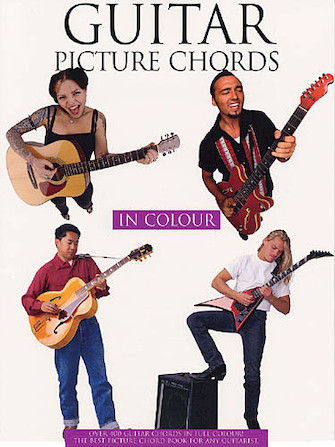 Product Cover for Guitar Picture Chords in Color