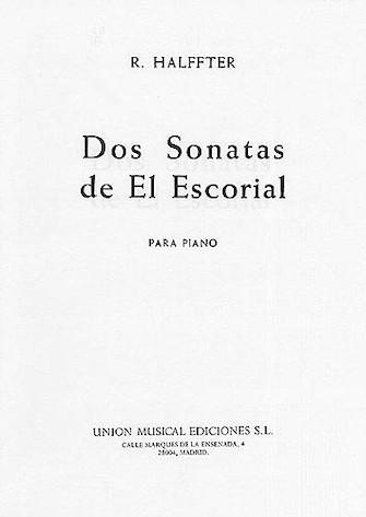 Product Cover for Rodolfo Halffter: Dos Sonatas De El Escorial