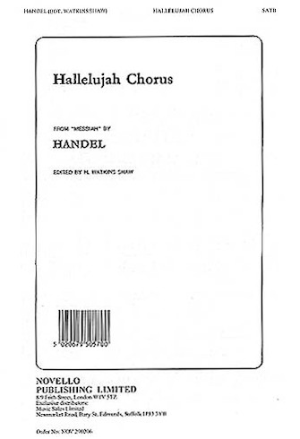 Product Cover for The Hallelujah Chorus (from Messiah)