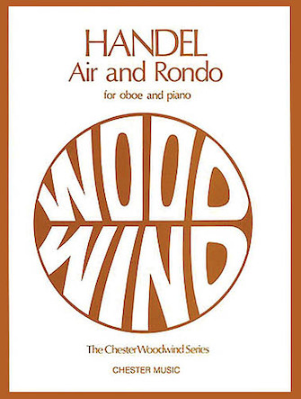 Product Cover for Air and Rondo for Oboe and Piano
