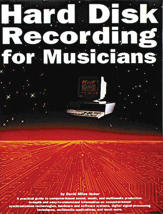 Product Cover for Hard Disk Recording for Musicians