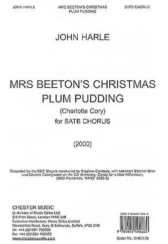 Product Cover for John Harle: Mrs Beeton's Christmas Plum Pudding