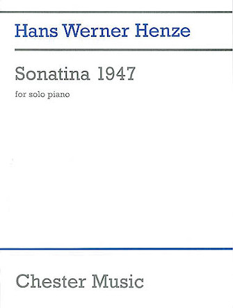 Product Cover for Hans Werner Henze: Sonatina