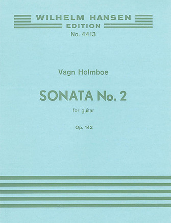 Product Cover for Holmboe Sonata No.2 Op.142 Guitar