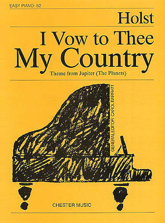 Product Cover for I Vow to Thee My Country (from Jupiter)