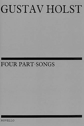 Product Cover for Four Part-Songs