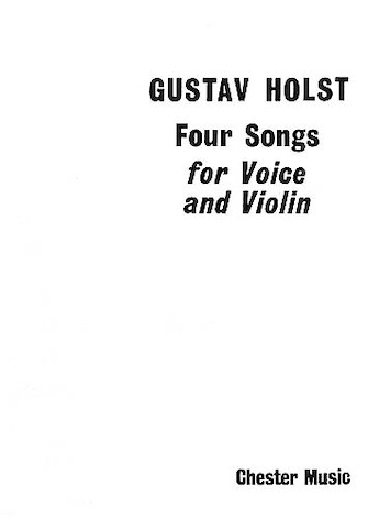 Product Cover for 4 Songs for Voice and Violin, Op. 35