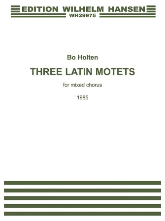 Product Cover for Three Latin Motets