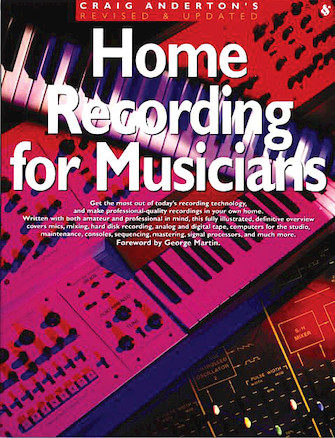 Product Cover for Home Recording for Musicians