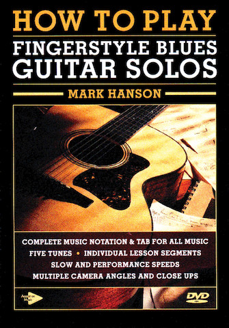 Product Cover for How to Play Fingerstyle Blues Guitar Solos