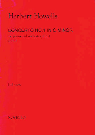 Product Cover for Herbert Howells: Piano Concerto No.1 In C Minor (Full Score)