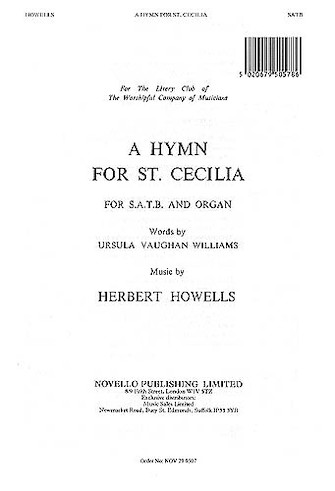 Product Cover for A Hymn for St. Cecilia