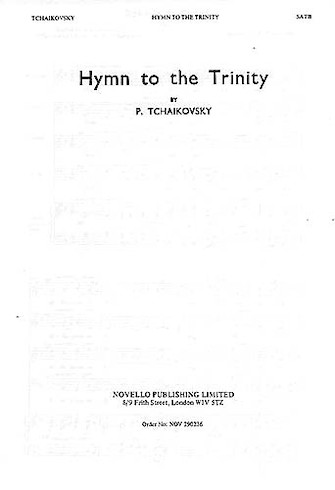 Product Cover for Hymn to the Trinity