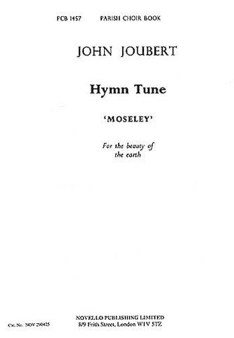 Product Cover for Hymn Tune 'Moseley'