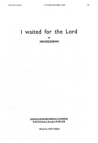Product Cover for I Waited for the Lord