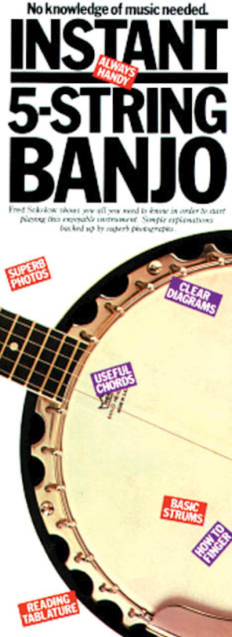 Product Cover for Instant 5-String Banjo