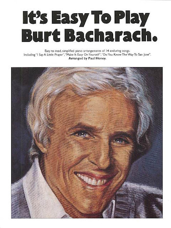 Product Cover for It's Easy to Play Burt Bacharach