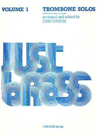 Product Cover for Just Brass Trombone Solos Volume 1