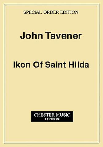 Product Cover for John Tavener: Ikon Of Saint Hilda (Score)