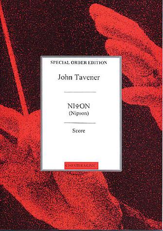 Product Cover for John Tavener: Nipson (Score)