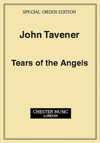 Product Cover for John Tavener: Tears Of The Angels (Score)