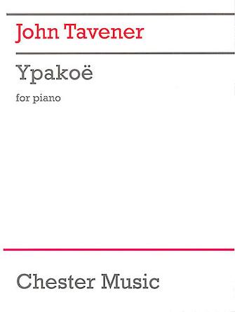 Product Cover for John Tavener: Ypakoe