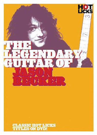 Product Cover for The Legendary Guitar of Jason Becker