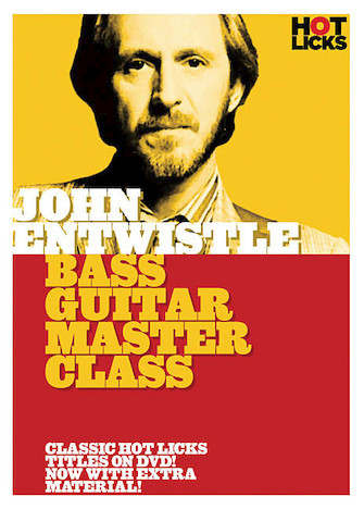 Product Cover for John Entwistle – Bass Guitar Master Class