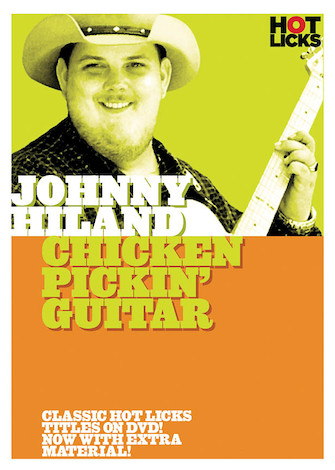 Product Cover for Johnny Hiland – Chicken Pickin' Guitar