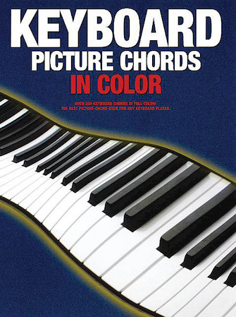 Product Cover for Keyboard Picture Chords in Color