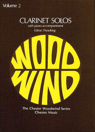 Product Cover for Clarinet Solos – Volume 2