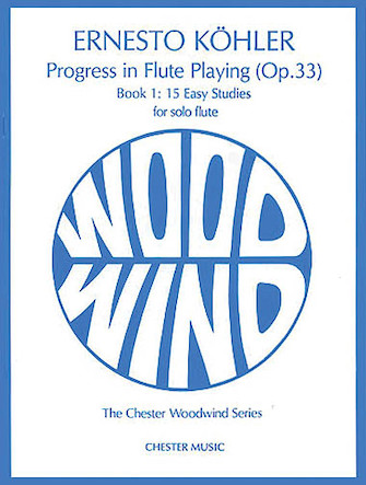 Product Cover for Kohler: Progress in Flute Playing Op.33 Book 1