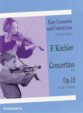 Product Cover for Concertino in D, Op. 15 (1st and 3rd position)
