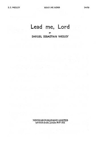 Product Cover for Lead Me, Lord