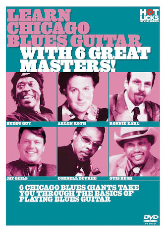 Product Cover for Learn Chicago Blues Guitar with 6 Great Masters!