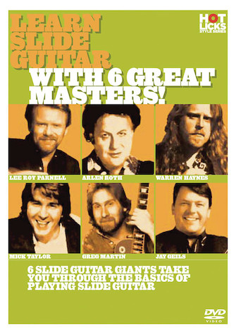 Product Cover for Learn Slide Guitar with 6 Great Masters!