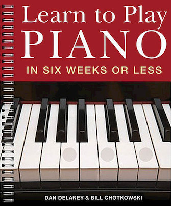Product Cover for Learn to Play Piano in Six Weeks or Less