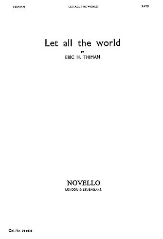 Product Cover for Let All the World