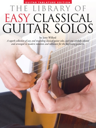 Product Cover for Library of Easy Classical Guitar Solos