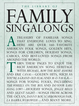 Product Cover for The Library of Family Singalongs